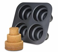 Chicago Metallic Non-Stick Multi-Tier Cake Pan