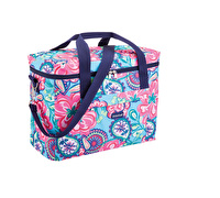 KitchenCraft Antigua Large 21 Litre Flowery Paisley Family Cool Bag