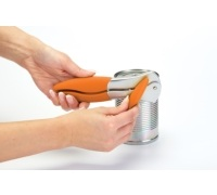 Colourworks Orange Can Opener with Soft Touch Handle