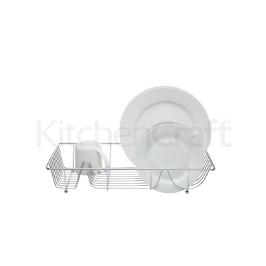 KitchenCraft Chrome Plated Large Wire Dish Drainer