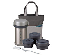 Zojirushi Lunch Set Stainless Steel