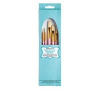 Sweetly Does It Pack of 5 Sugarcraft Decorating Brushes