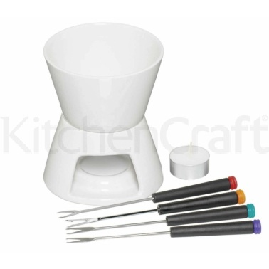 KitchenCraft Chocolate Fondue Set