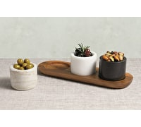 Artesà Marble 3 Piece Serving Set