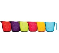 Colourworks Set of 6 Measuring Jugs