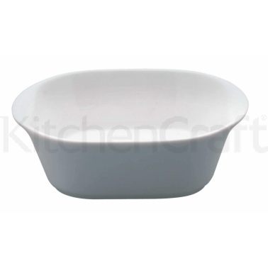 KitchenCraft Small White Porcelain Serving Dish