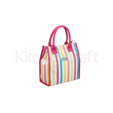 Coolmovers 4 Litre Multi Stripes Lunch / Snack Cool Bag