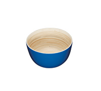 KitchenCraft Santorini Bamboo Wood Salad Serving Dish/ Fruit Bowl