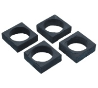 Master Class Set of 4 Slate Napkin Rings
