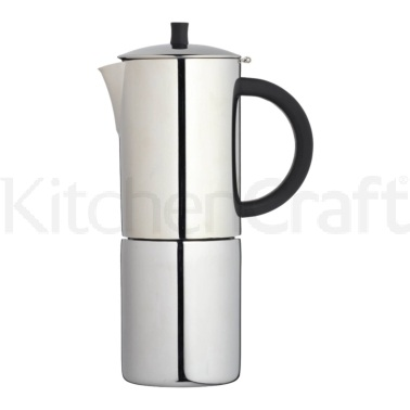 Le'Xpress Stainless Steel 10 Cup Expresso Maker
