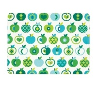 KitchenCraft An Apple A Day Cork Back Laminated Set of 4 Placemats