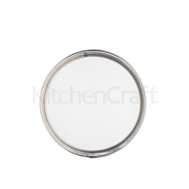 Kitchen Craft Stainless Steel Drum Sieve