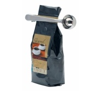 Le'Xpress Stainless Steel Coffee Measure and Bag Clip