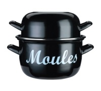 KitchenCraft World of Flavours Mediterranean Large Mussels Pot