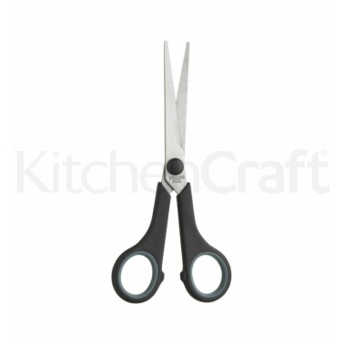 KitchenCraft 17cm Rubber Grip Multi-Purpose Scissors