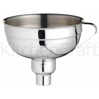 Home Made Stainless Steel Adjustable Jam Funnel