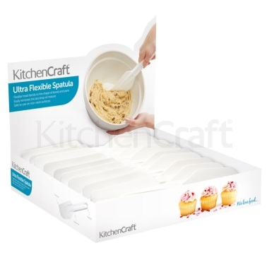 Kitchen Craft Display of Eighteen Ultra Flexible Spatulas