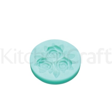 Sweetly Does It Rose Bouquet Silicone Fondant Mould