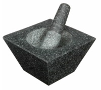 KitchenCraft Square Heavy Duty Mortar and Pestle