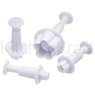 Sweetly Does It Set of 4 Daisy Fondant Plunger Cutters