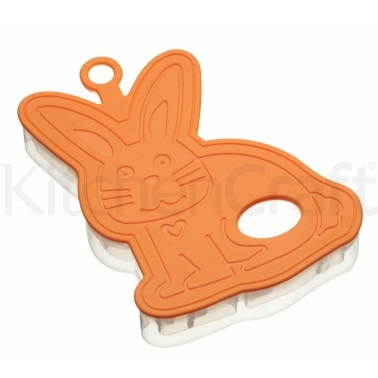 Hoppity Does It Easter Bunny 3D Cookie Cutter