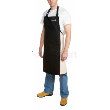MasterClass Deluxe Professional Black Large Apron