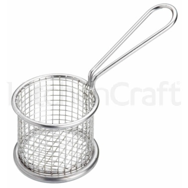 MasterClass Stainless Steel Mini 8.5cm Frying Basket