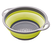 Colourworks Green Collapsible Colander with Handles