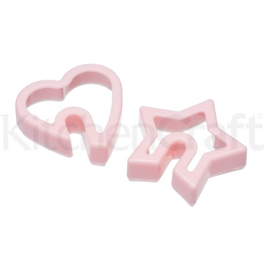 Sweetly Does It Set of 2 Slotted Cookie Cutters