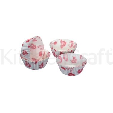 Sweetly Does It Pack of 60 Baby Girl Cupcake Cases