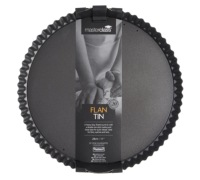 Master Class Non-Stick 28cm Fluted Round Flan / Quiche Tin