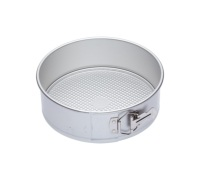 MasterClass Silver Anodised 23cm Spring Form Cake Pan