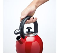 Le'Xpress Enamel-Coated Vibrant 1.3 Litre Red Kettle