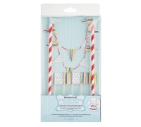 Sweetly Does It Flag Cake Toppers and Bunting