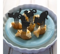 Fred Mmmeow Party & Snack Picks