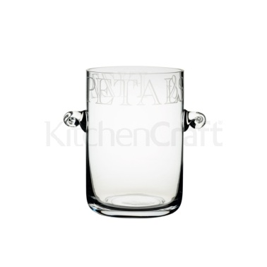 Artesà Glass Ice Bucket / Vase