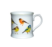Kitchen Craft Fine Porcelain Birds Mug