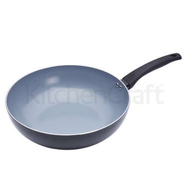 Master Class Ceramic Non-Stick Induction Ready 30cm Wok