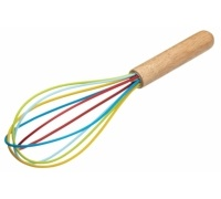 Let's Make Silicone Rainbow Whisk
