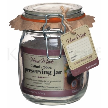Bocal conserve en verre 750 ml