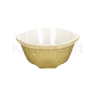 Home Made Traditional Stoneware 24cm Mixing Bowl