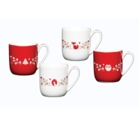 Winter Woodland Porcelain Espresso Set