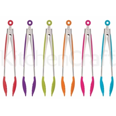 Colourworks Silicone Tongs