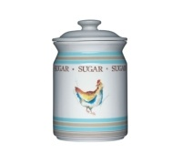 Hen House Ceramic Sugar Storage Jar
