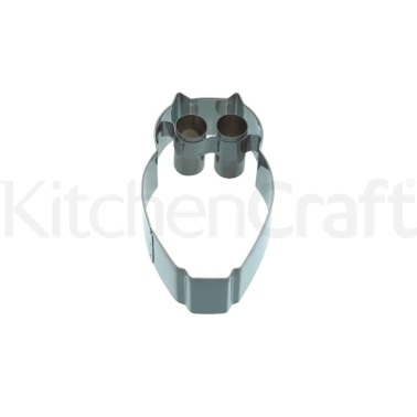 KitchenCraft 9cm Owl Shaped Cookie Cutter