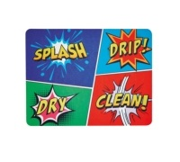 Kitchen Craft Non-Slip Comic Strip Drying Mat