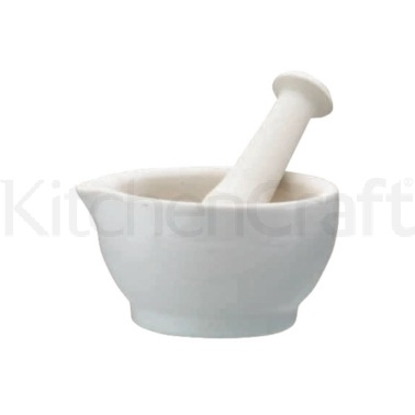 Home Made Ceramic 11.8cm Mortar and Pestle