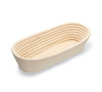Paul Hollywood Rattan Oval Proving Basket