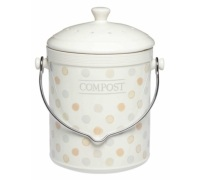 Classic Collection Ceramic Composter with Filter