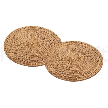 Master Class Set of 2 Bamboo Rattan Placemats
